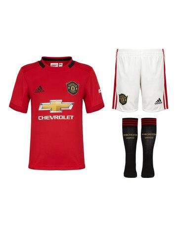Kids Man Utd 19/20 Home Kit