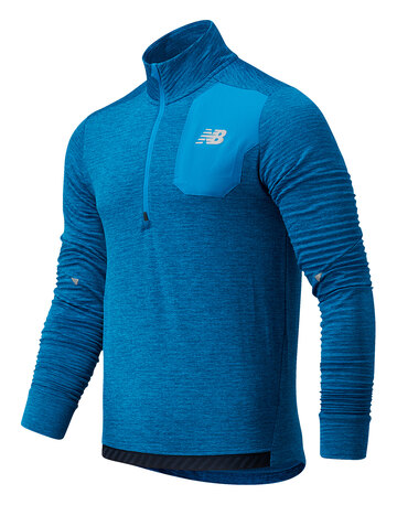 Mens Impact Run Half Zip