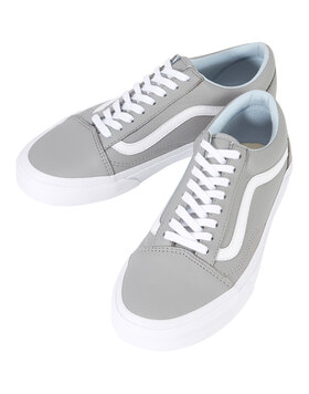 Womens Old Skool Leather