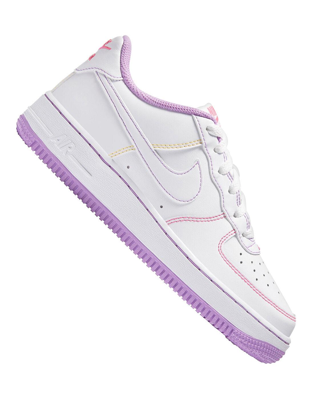 Nike Older Girls sweat adidas enfant boots sale girls - White ...