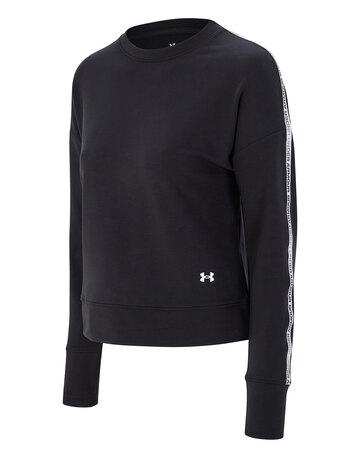 Womens Rival Terry Taped Crewneck Sweatshirt