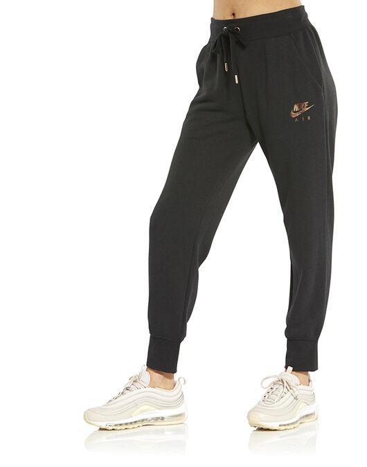 Women s Black Metallic Nike Air Track Bottoms  5369d44fa7
