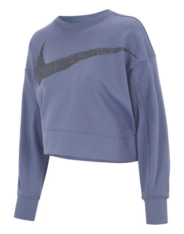 Womens Dry Get Fit Fleece Sparkle Sweatshirt