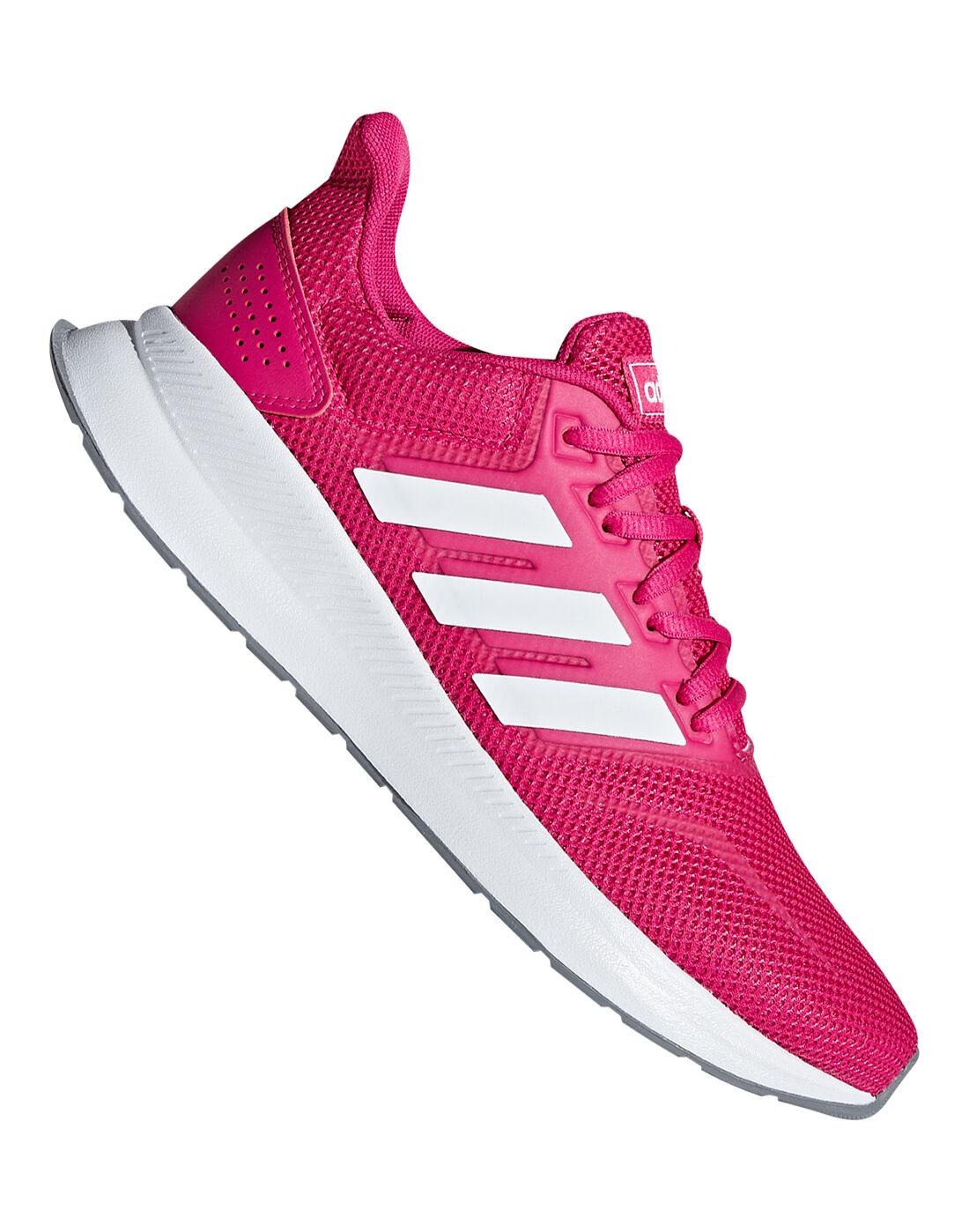 Women's Pink adidas Falcon | Life Style Sports