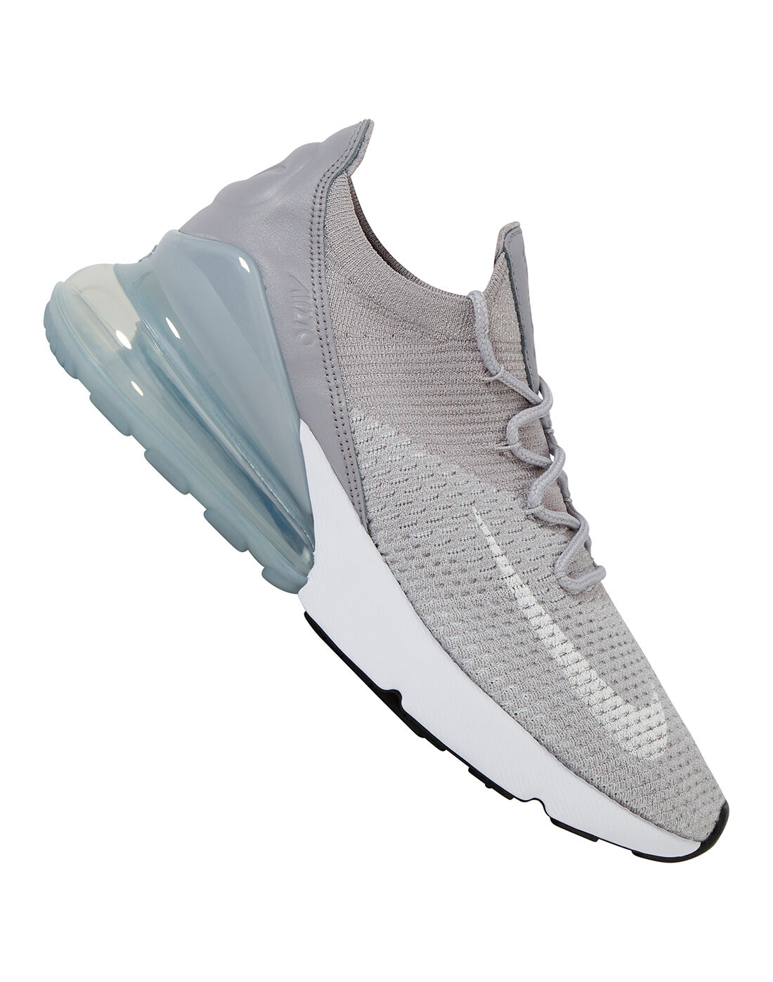 Women's Nike Air Max 270 Flyknit | Grey | Life Style Sports