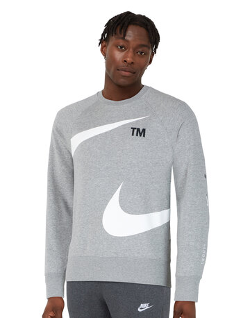 Mens Swoosh Fleece Crew Neck Sweatshirt