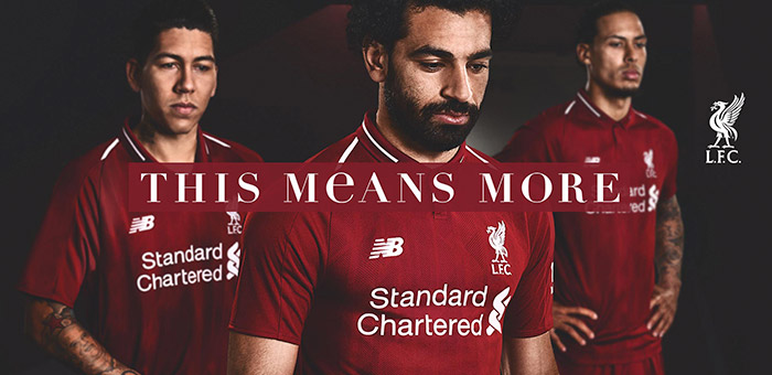 Liverpool Home Jersey 2018 Pre-Order