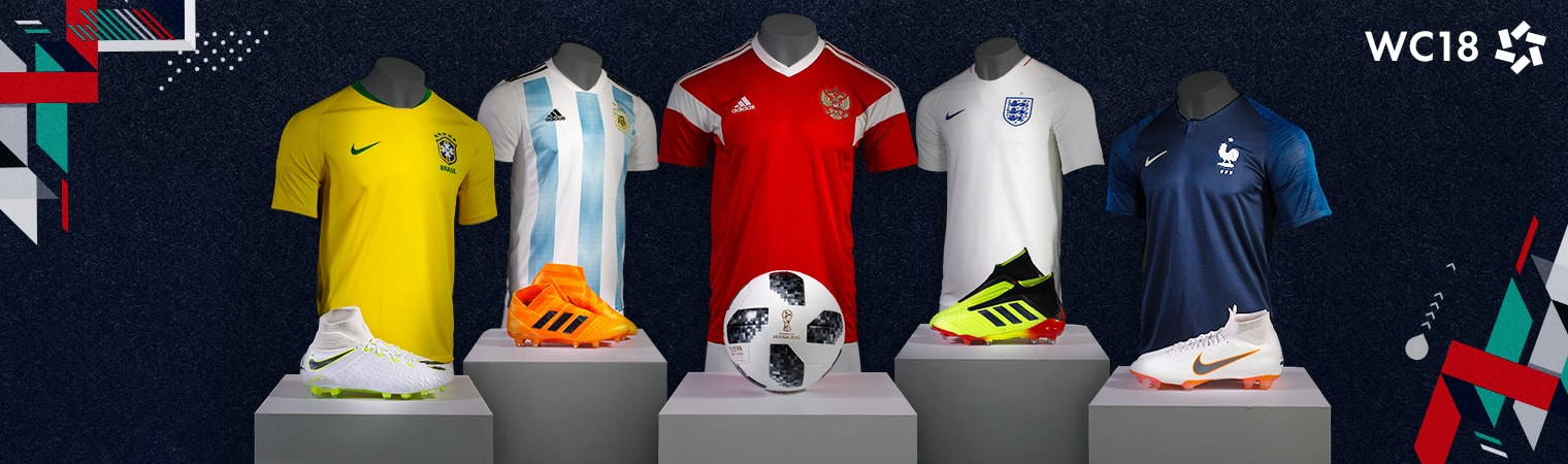 World Cup 2018 Jerseys