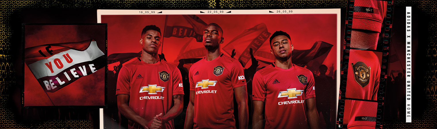 ddb39014831 Manchester United Home Kit 19 20