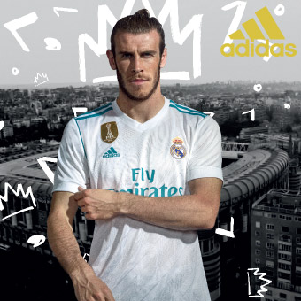 Real Madrid Football Jerseys Home and Away