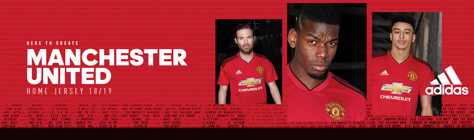 Man United Home Jerseys
