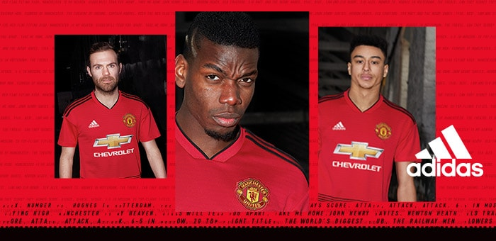 Man United Home Jersey