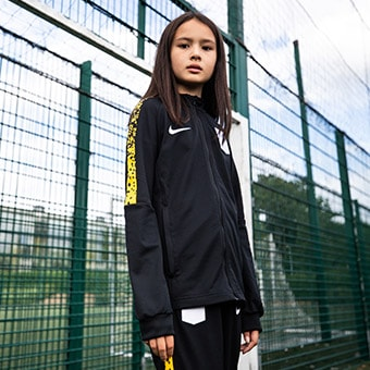 Girls Football Apparel and Football Boots