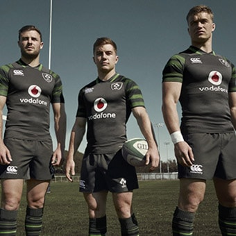 Irish Rugby Jerseys