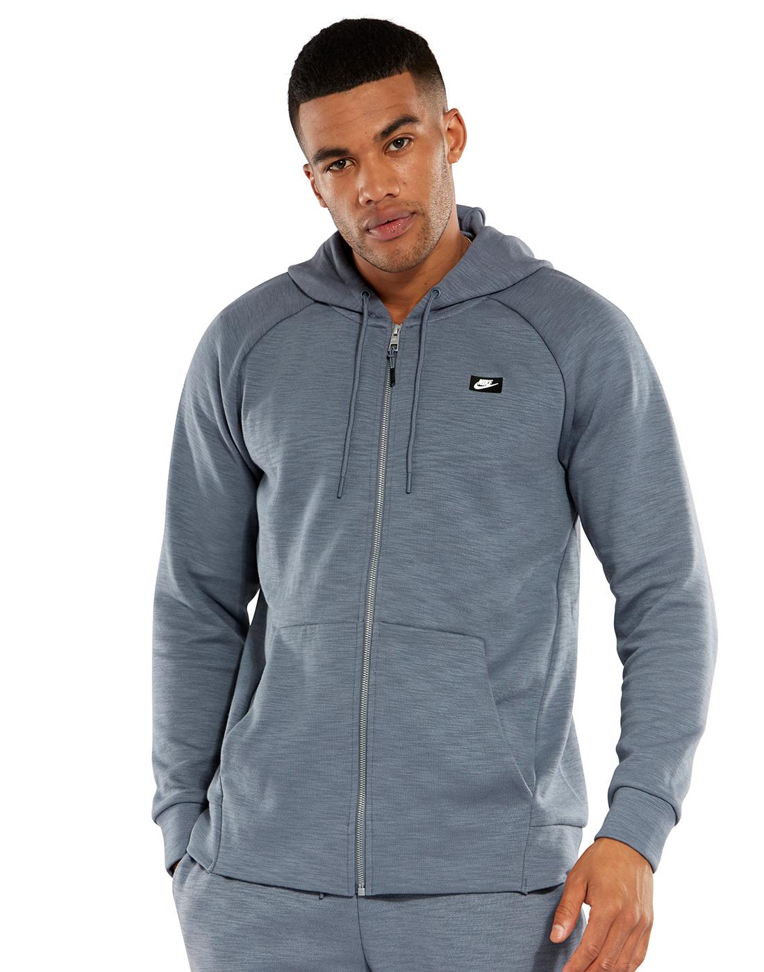 ed18b60d3 Men's Blue Nike Optic Hoodie   Life Style Sports