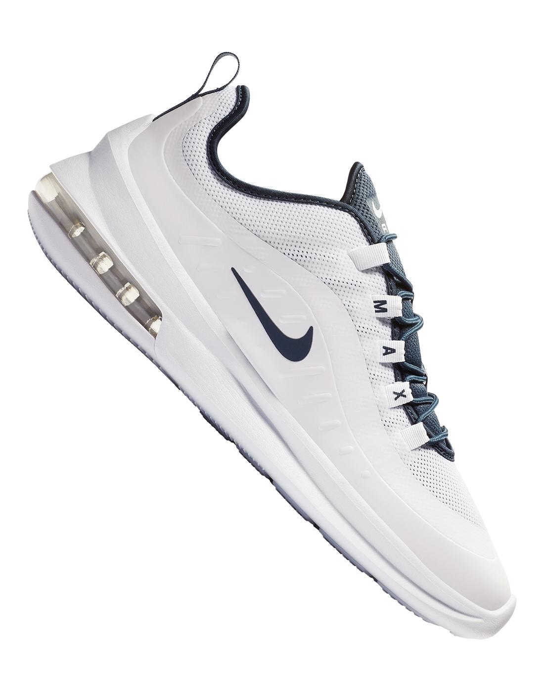 Men's White Nike Air Max Axis   Life