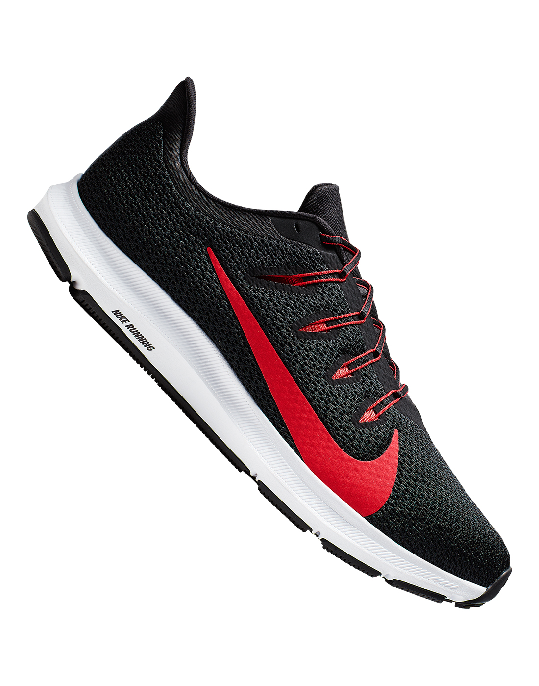 Black \u0026 Red Nike Quest Running Shoes