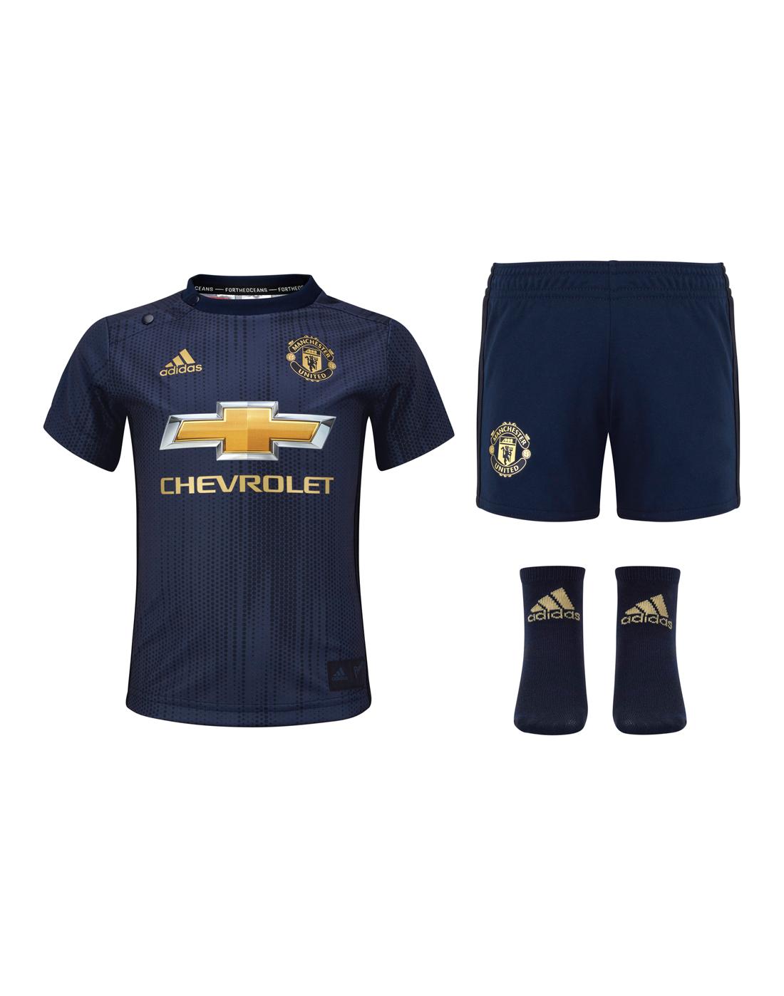 Infants Man United 18 19 Kit Adidas Life Style Sports