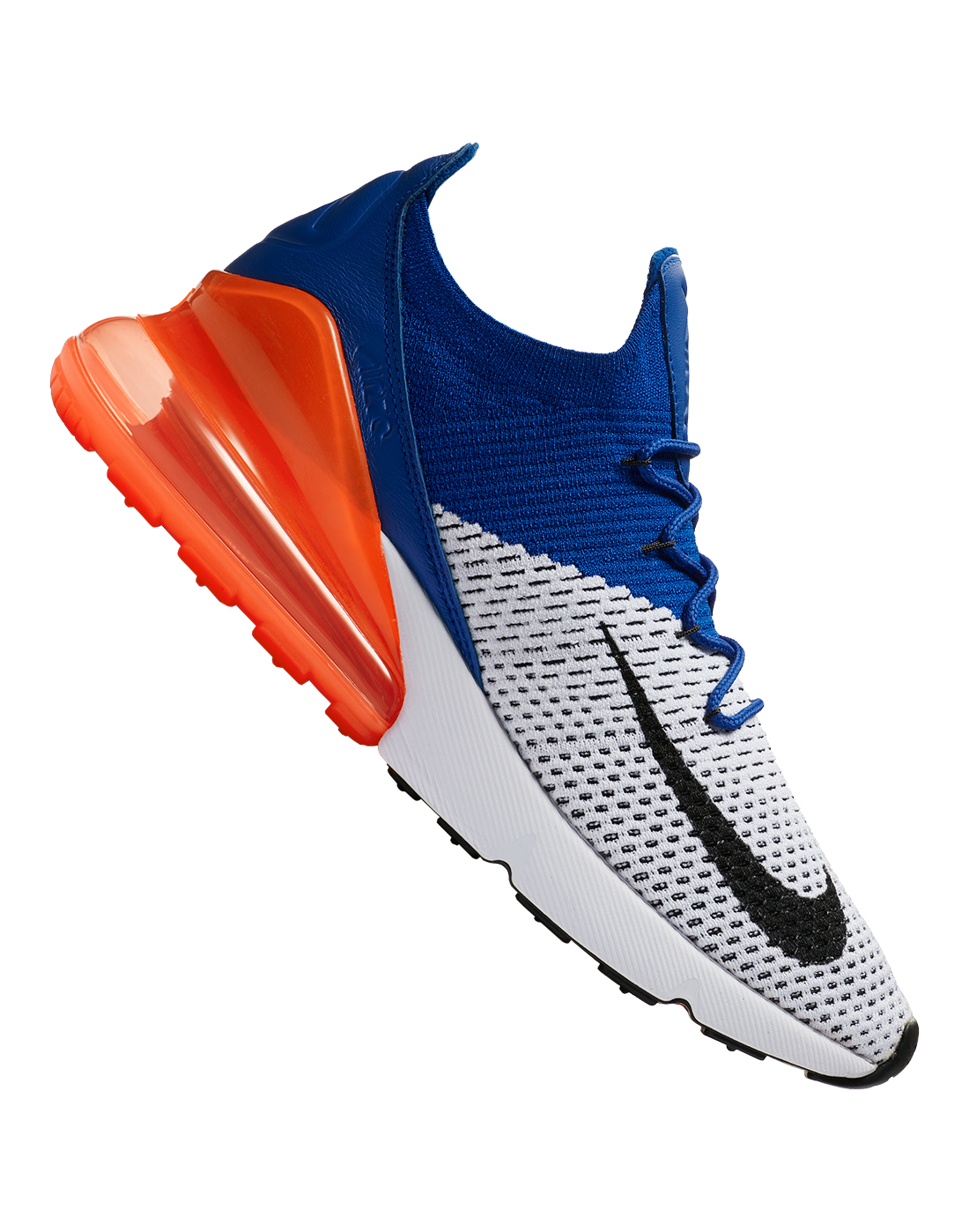 c77b6719f0a32 Men s White Nike Air Max 270 Flyknit