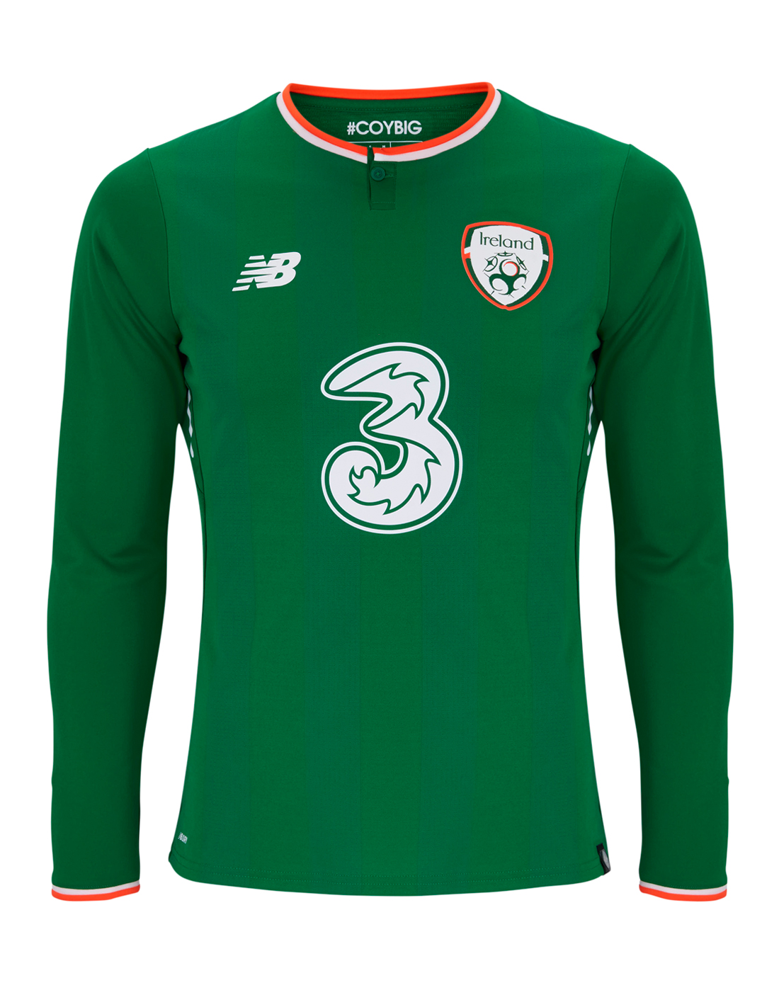 4368fbaea New Balance Adult Ireland Home Long Sleeve Jersey | Life Style Sports