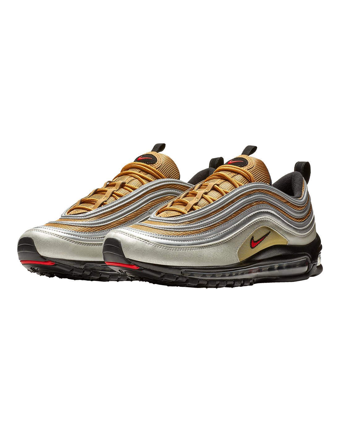 3ebbdb3397 Men's Gold & Silver Nike Air Max 97 | Life Style Sports