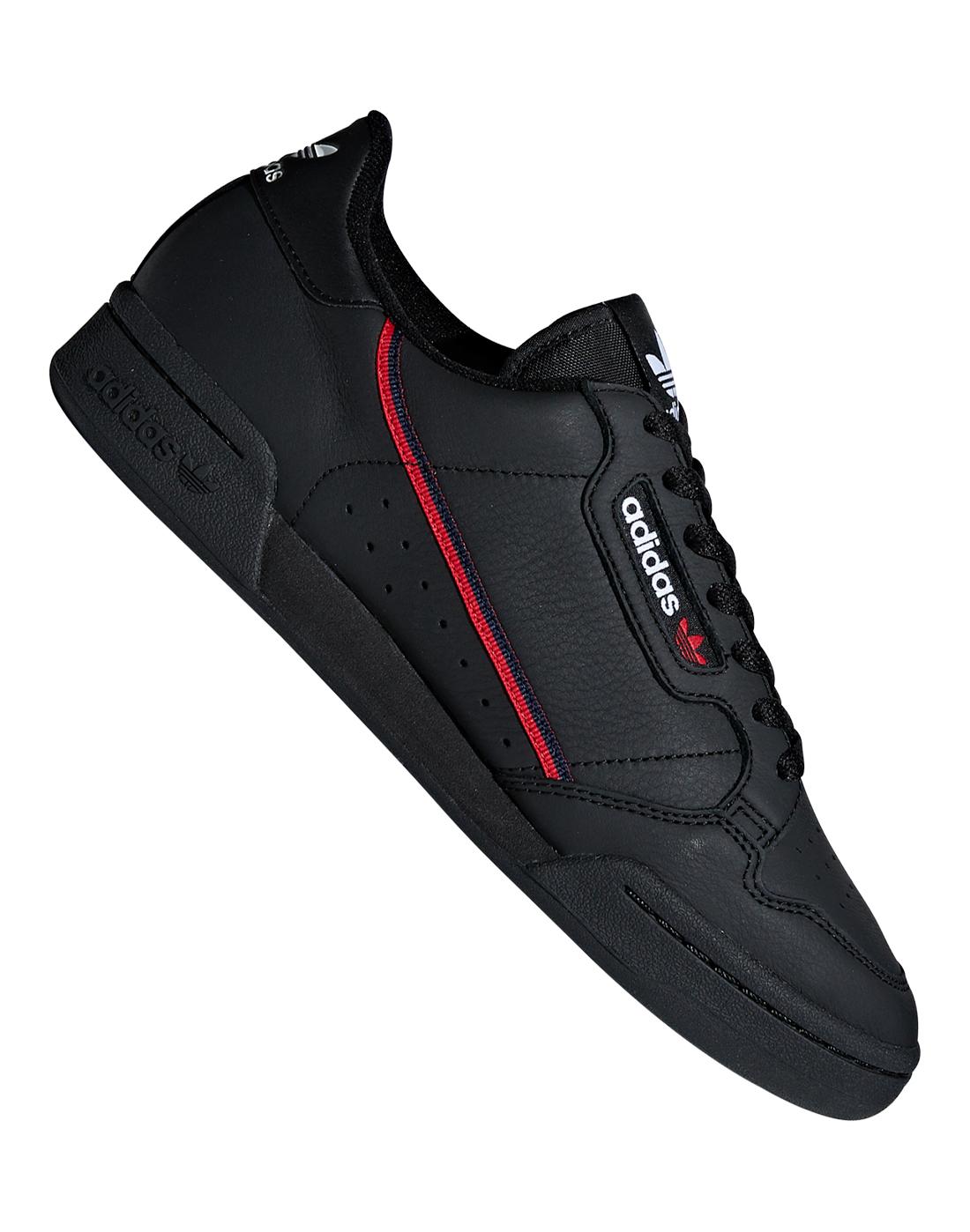 4d3307c9a65 Men s Black adidas Originals Continental 80