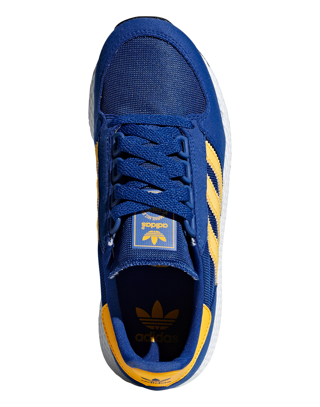 cd24b6473a7 Boy's Blue & Yellow adidas Originals Forest Grove | Life Style Sports