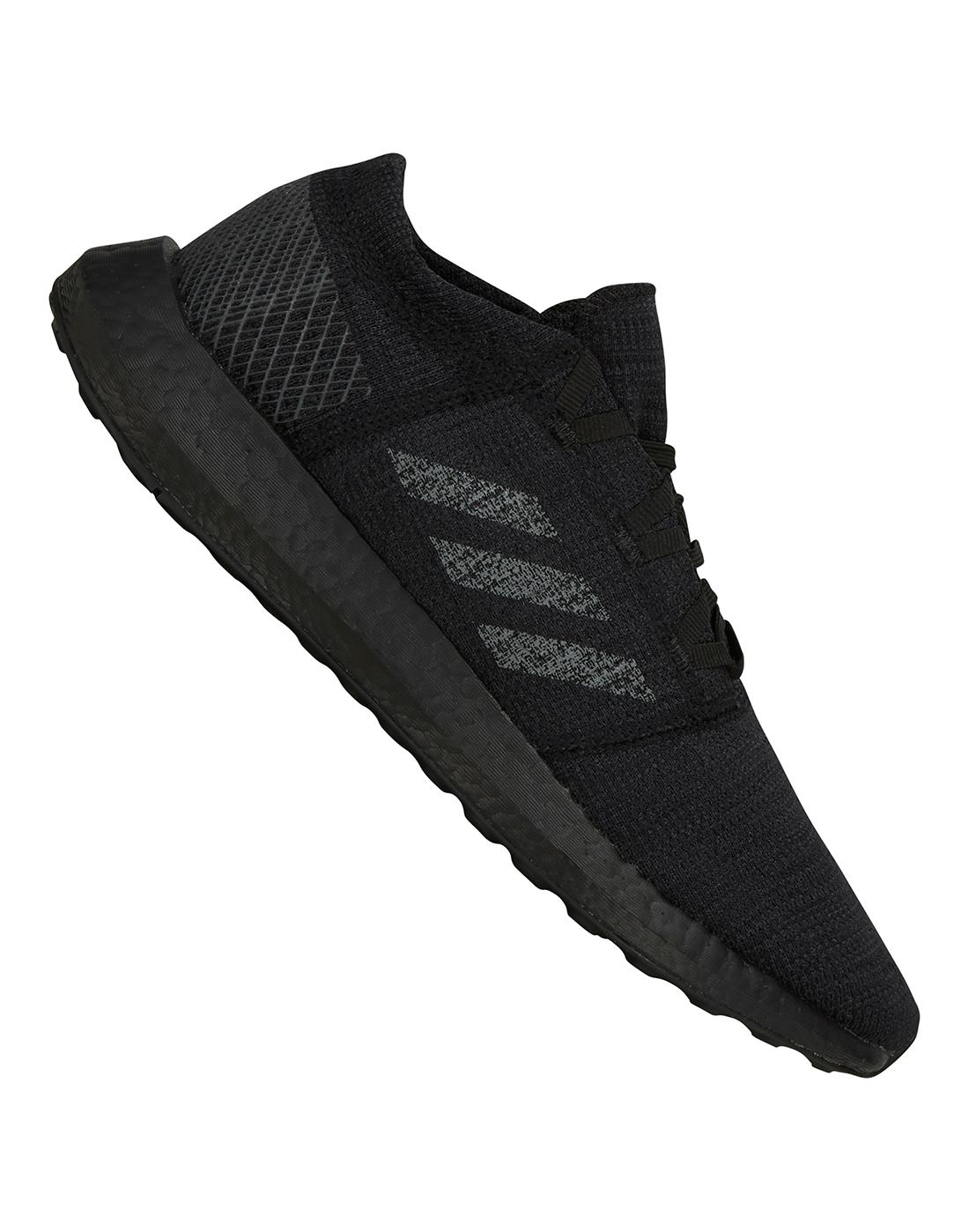 48842e3d7c996 Men s Black adidas Pureboost Go