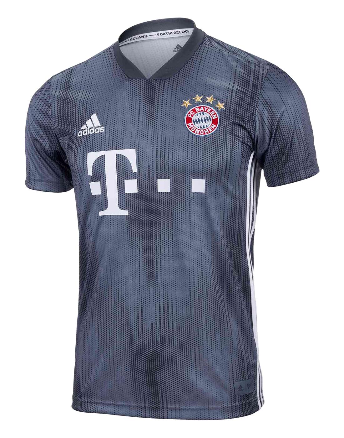 meet e7d37 5bc94 Kids FC Bayern Munich 18/19 Third Jersey
