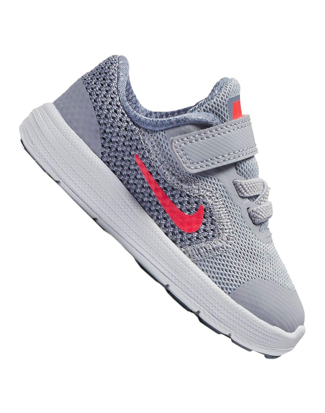 Infant Girls Nike Revolution Grey Life Style Sports