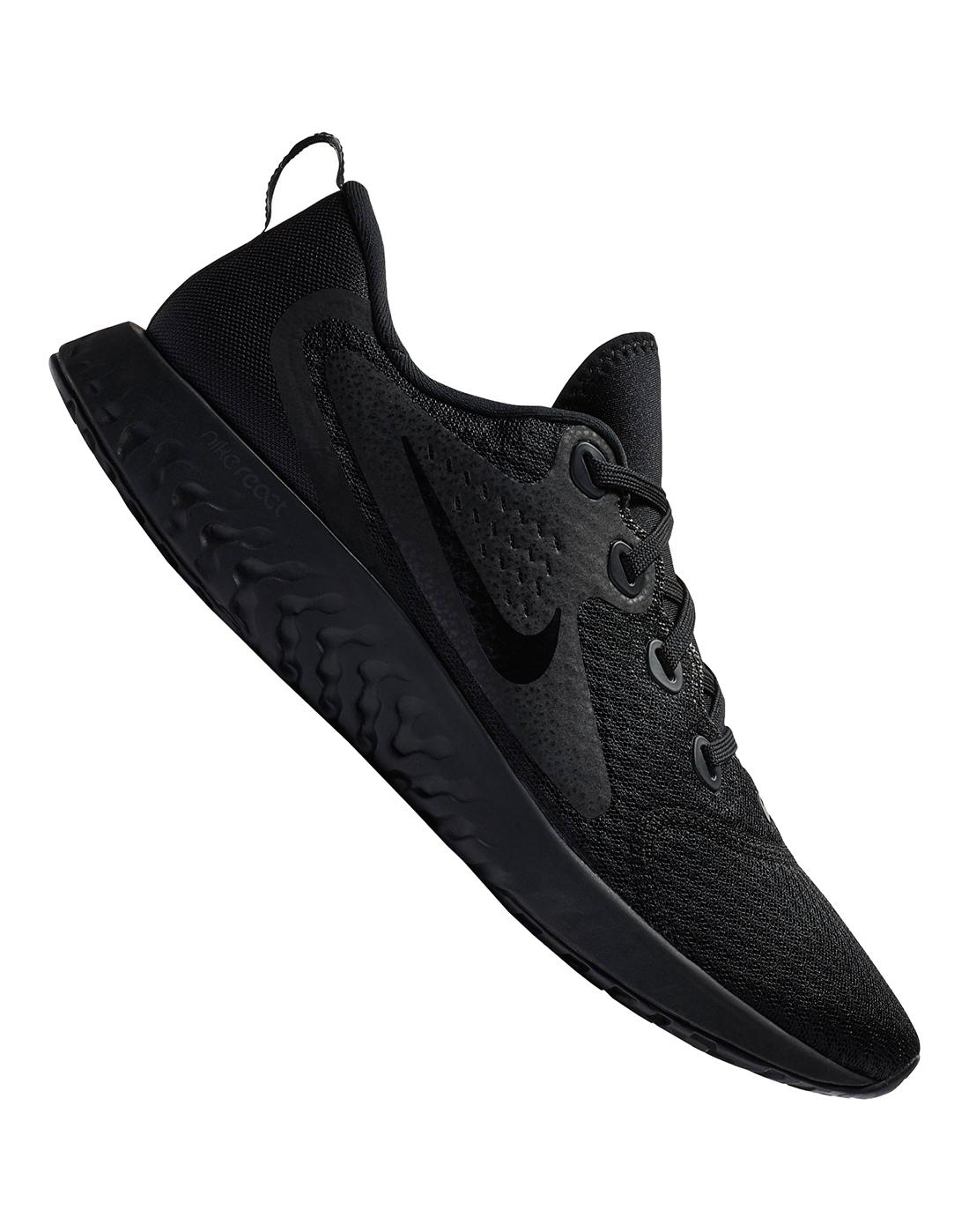 6a948685f565 Men s Black Nike Legend React