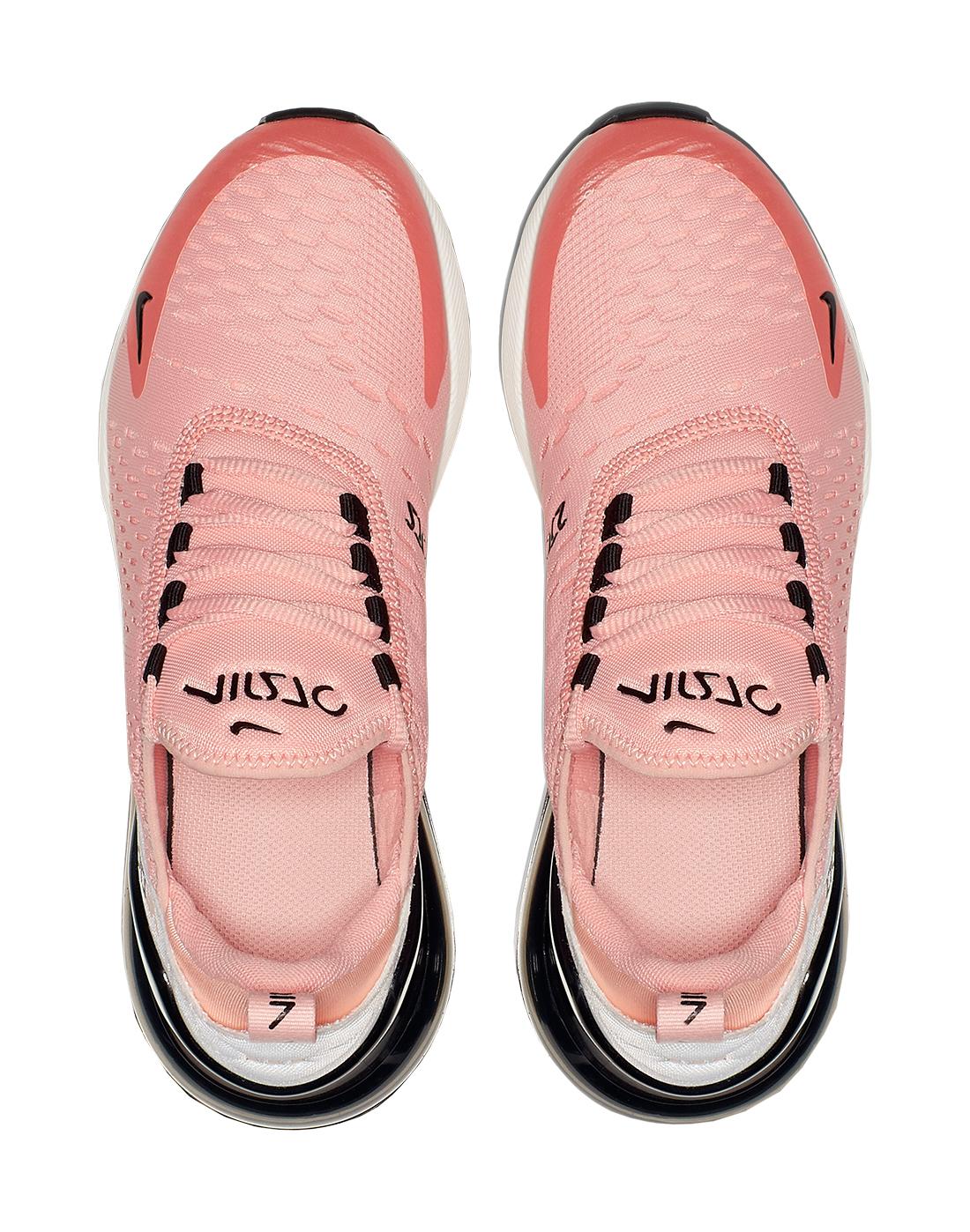 Girl's Pink \u0026 Black Nike Air Max 270