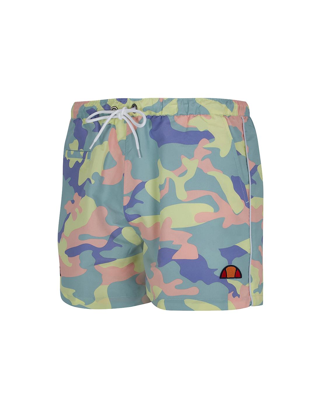bb2bdd1edd9 Men's Ellesse Multi-Colour Camo Shorts | Life Style Sports