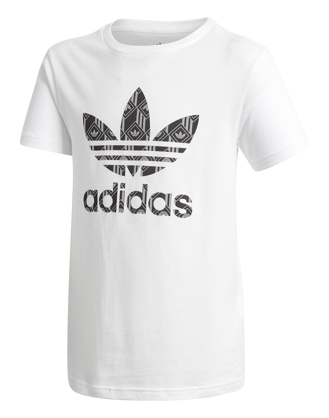 adidas Originals Older Boys Trefoil T-Shirt - White | adidas ...