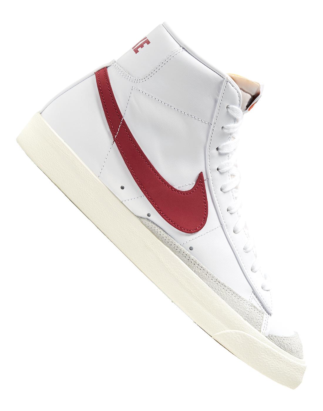 Nike Mens Blazer Mid 77 Vintage - White