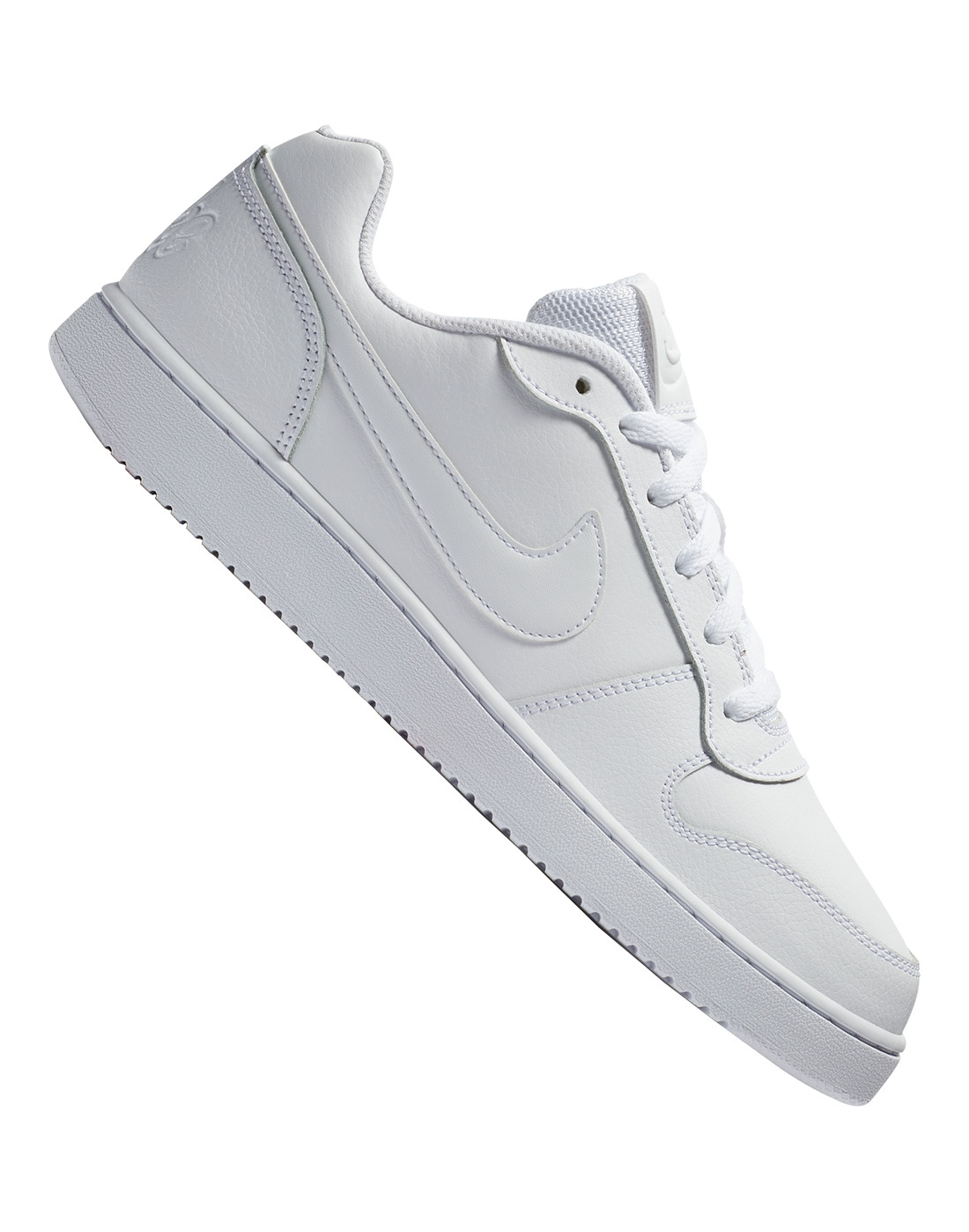 Nike Mens Ebernon Low - White | Life