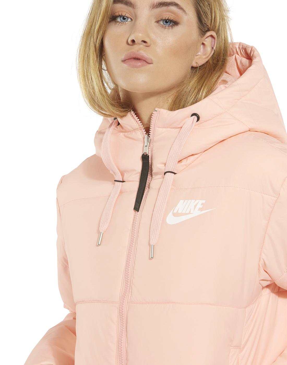 5b5319b291 Women s Pink Nike Reversible Padded Jacket