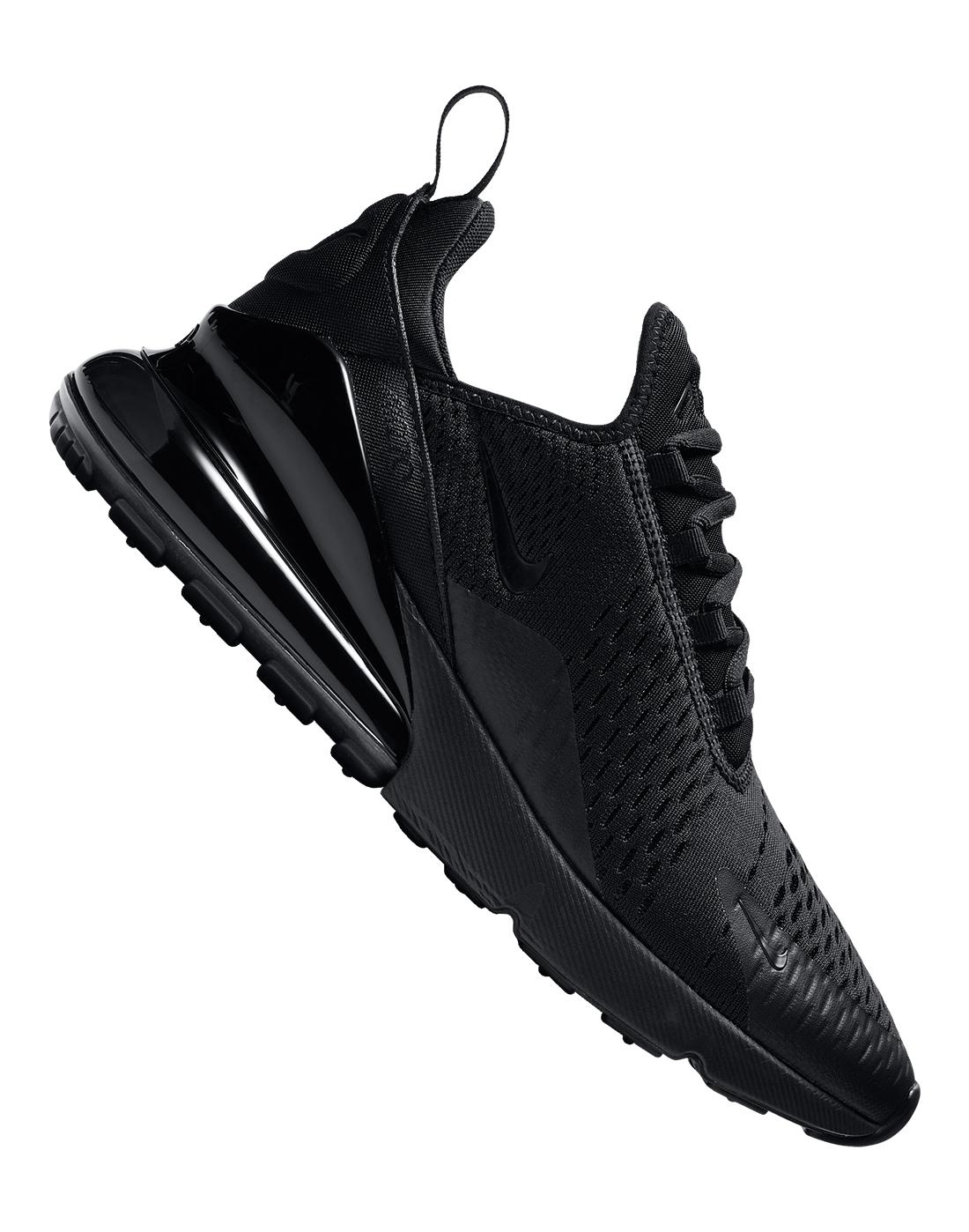 270 nike all black