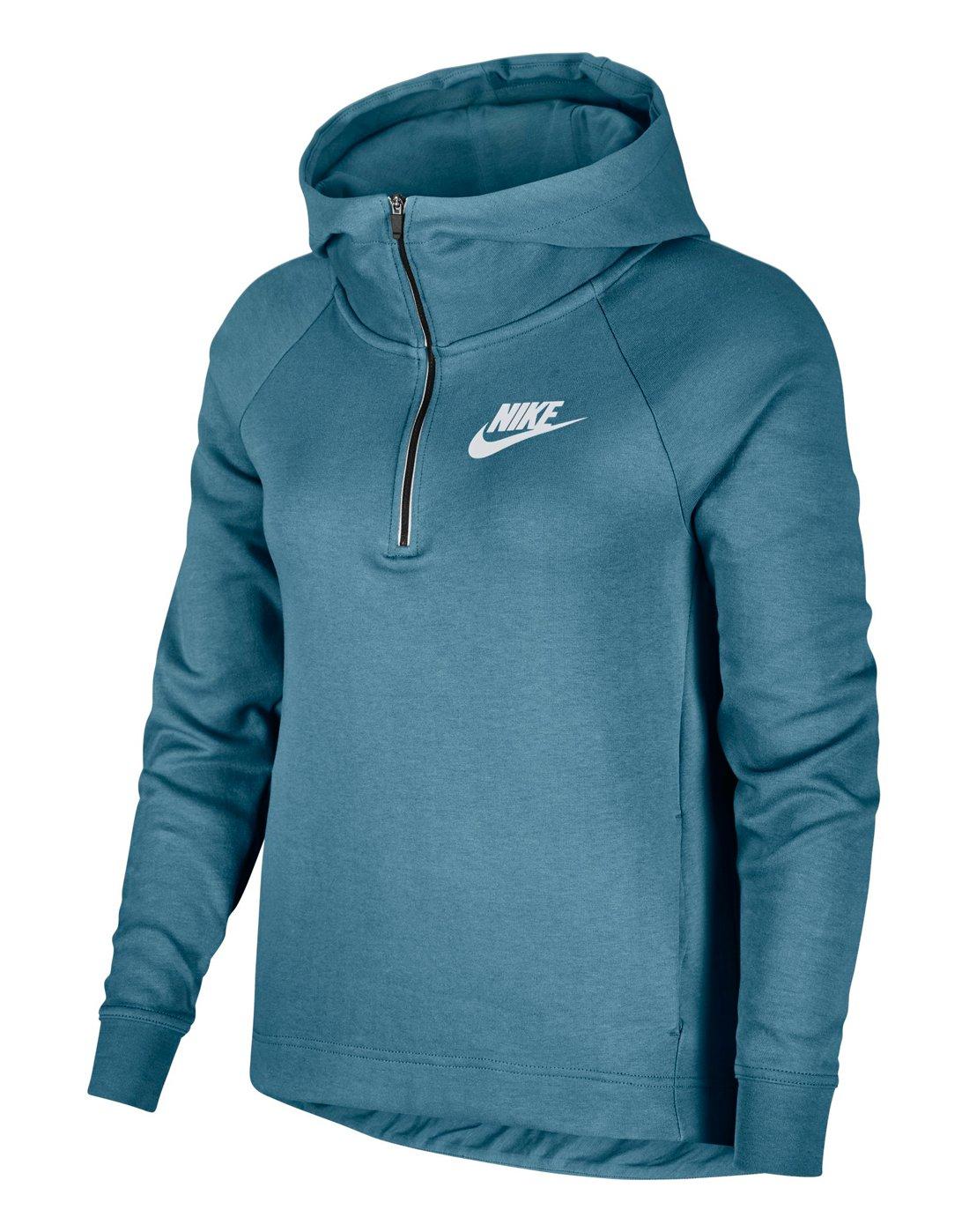 c9fe09634b32 Women s Nike Half-Zip Hoody