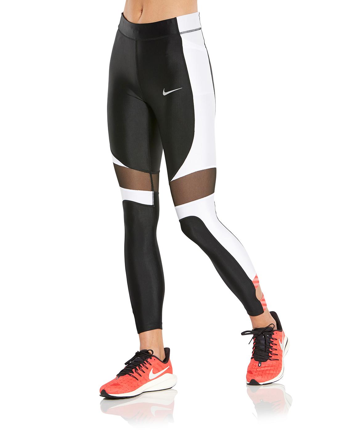 e5f093acb4794 Women s Black Nike Cropped Tights