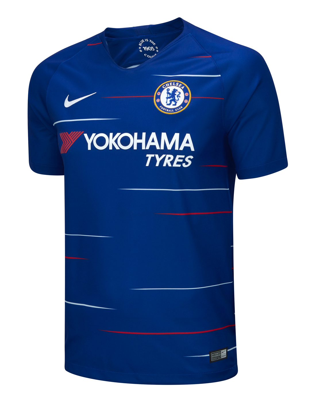 ... Adult Chelsea Home 18 19 Jersey ... 3fba21632
