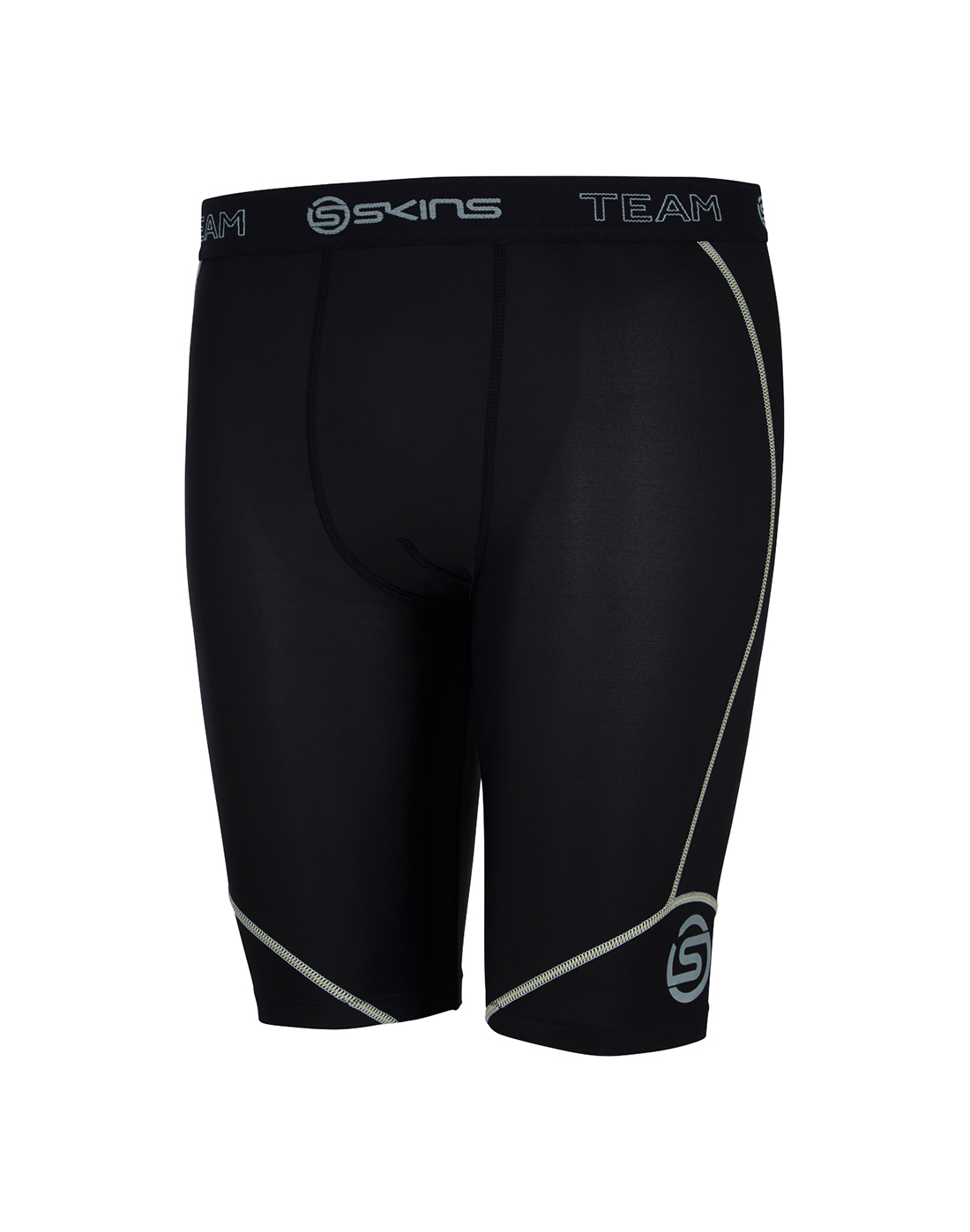 8a646d3d49418 Men's Skins DNAmic Half Tight Base Layer | Black | Life Style Sports