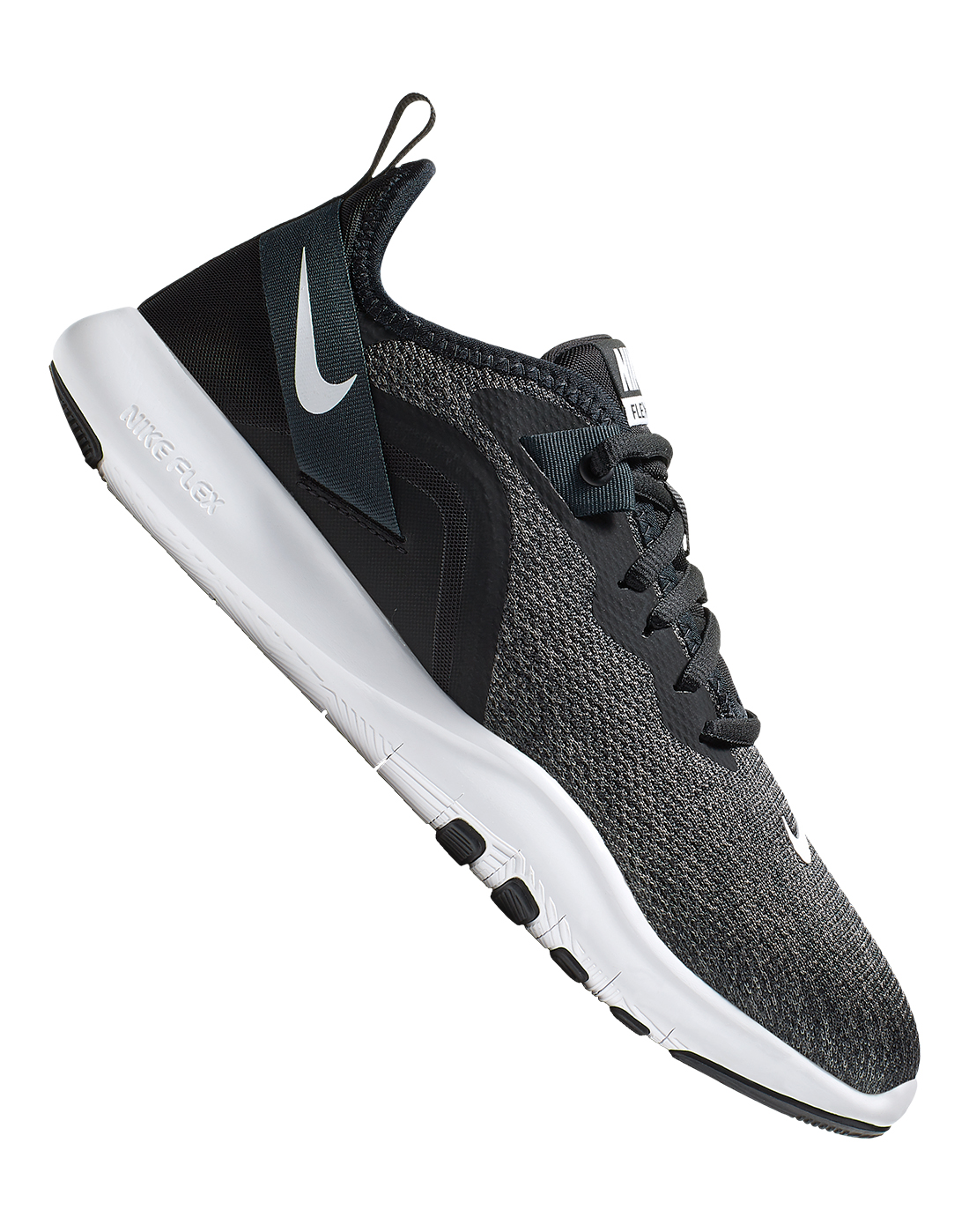 8e31f70e6b82 Women s Black Nike Flex Trainers