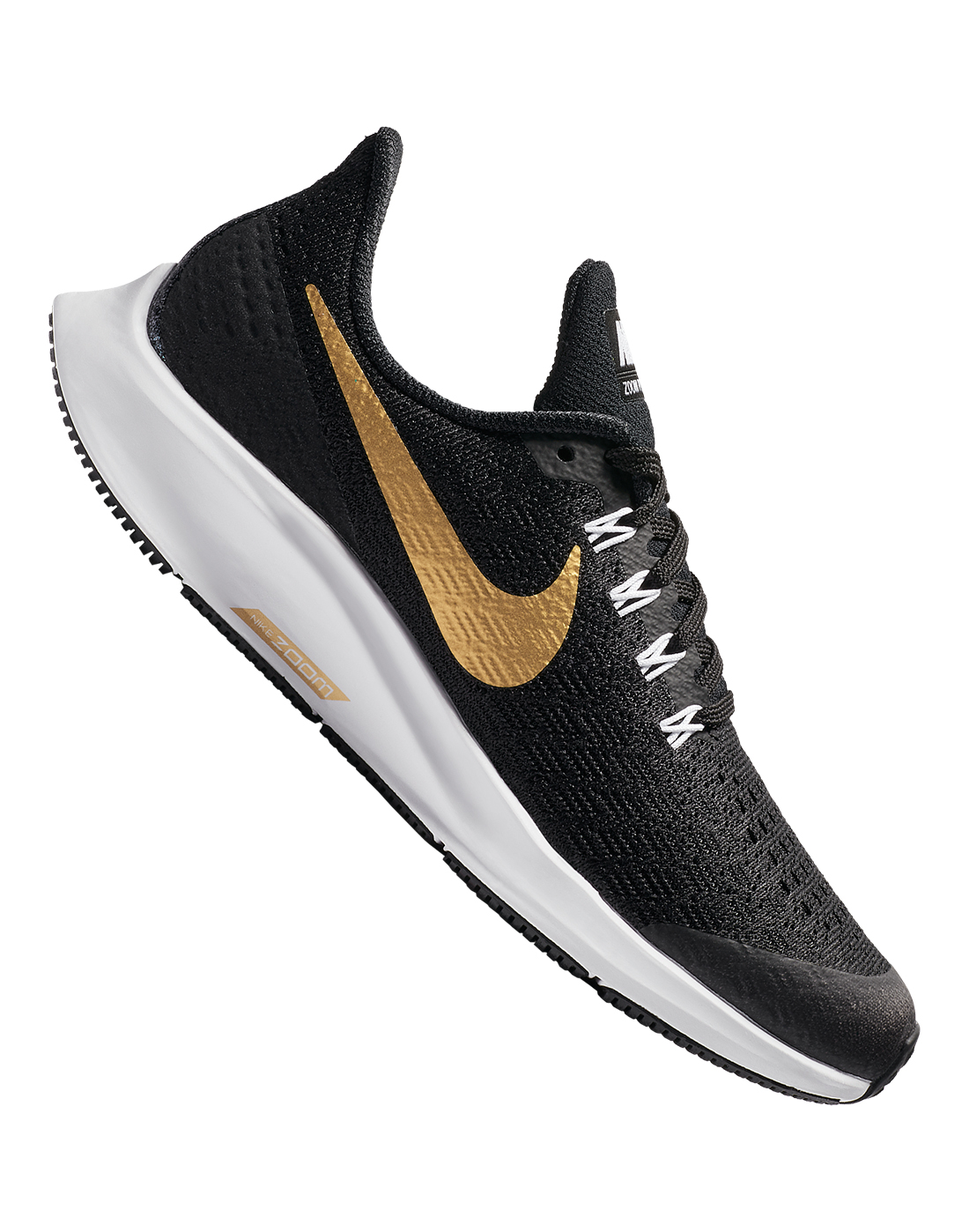 656f64111851 Girls Black Nike Air Zoom Pegasus 35