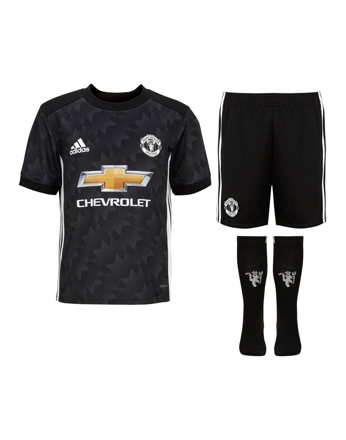 68cebbd5e adidas Kids Man Utd 17 18 Away Kit