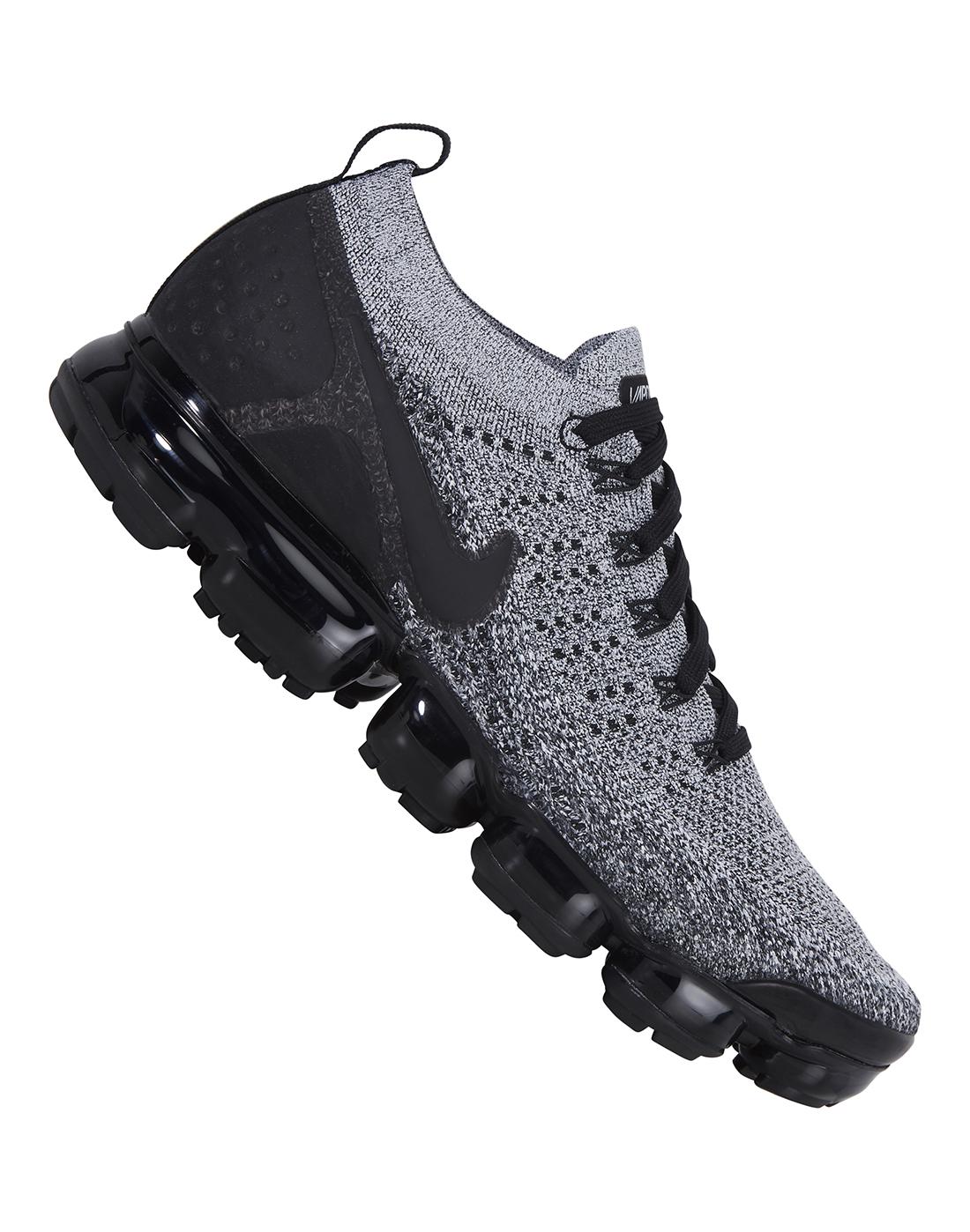 Grey Nike Air Vapormax Flyknit 2