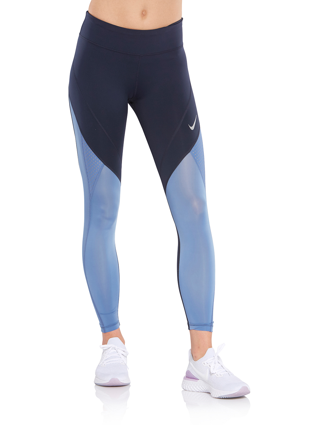 35ec8ee045c5f7 Women's Blue Nike Epic Lux Tights | Life Style Sports