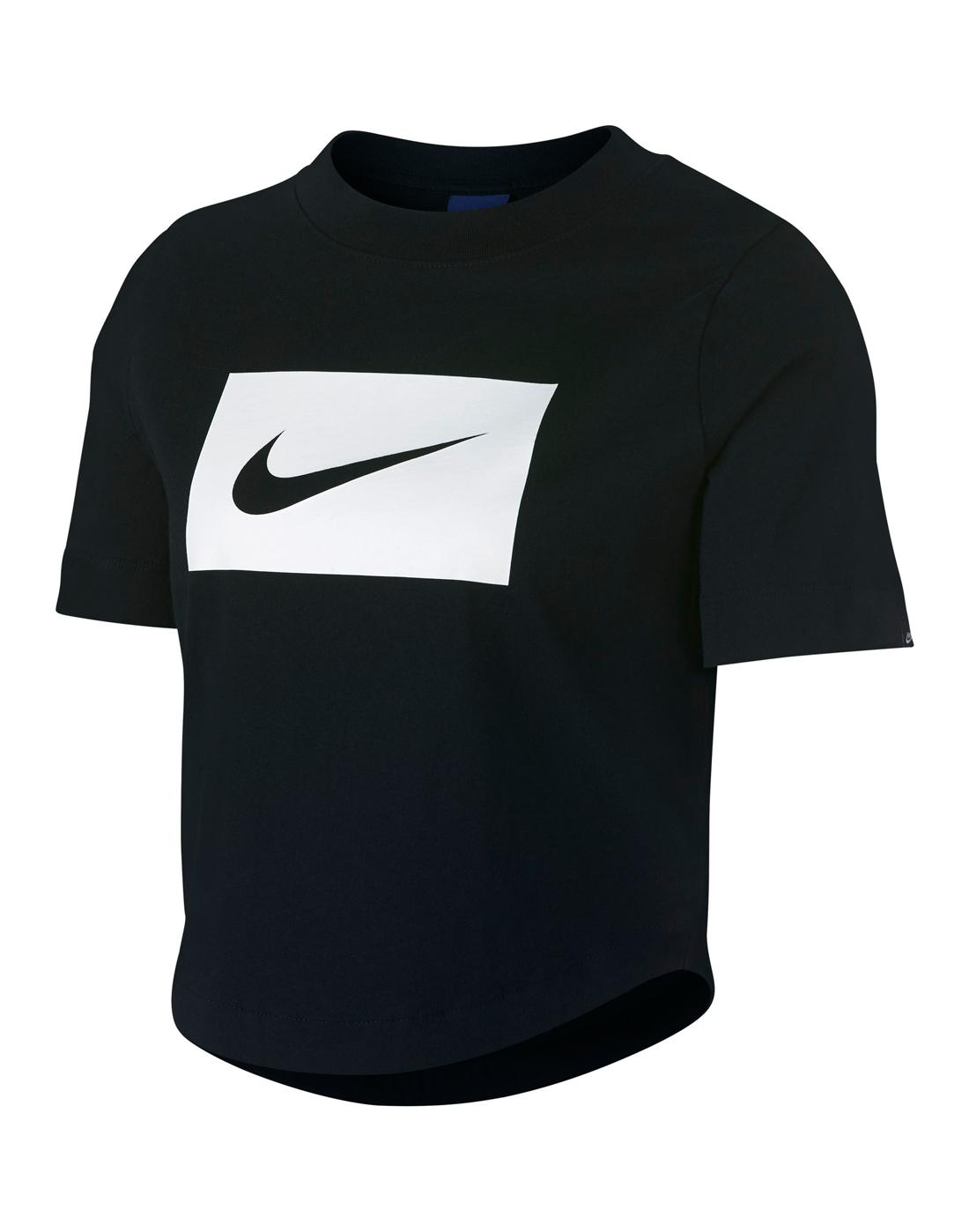 c6b36776a Nike Womens Swoosh Crop T-Shirt | Life Style Sports