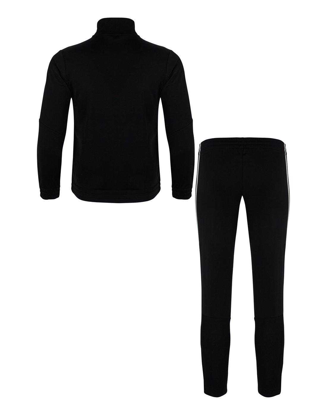 8a05873c8 Boys adidas Tiro Tracksuit   Black   Life Style Sports