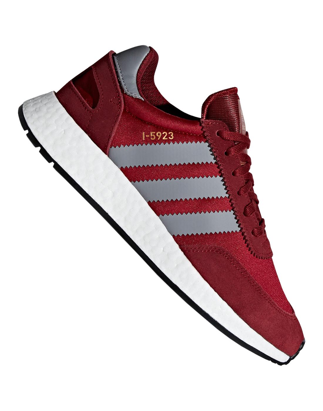 wholesale dealer 6dc76 abc6b adidas Originals Mens I-5923   Burgundy   Life Style Sports